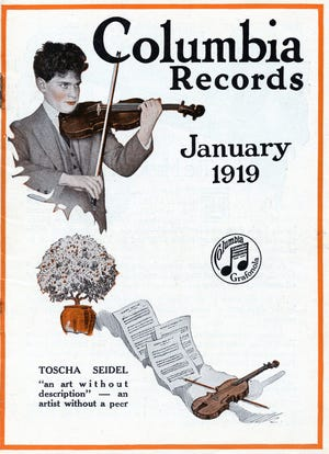 Columbia Records magazine was one of the few ways individuals could access new music 100 years ago in Salem.