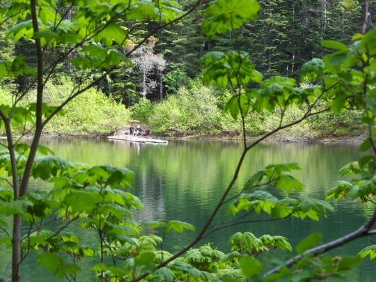 Veda Lake near Mount Hood.