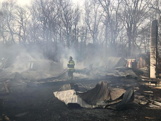 Kent County Barn Fire