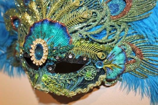 Blue Mask Dennis Beckman
