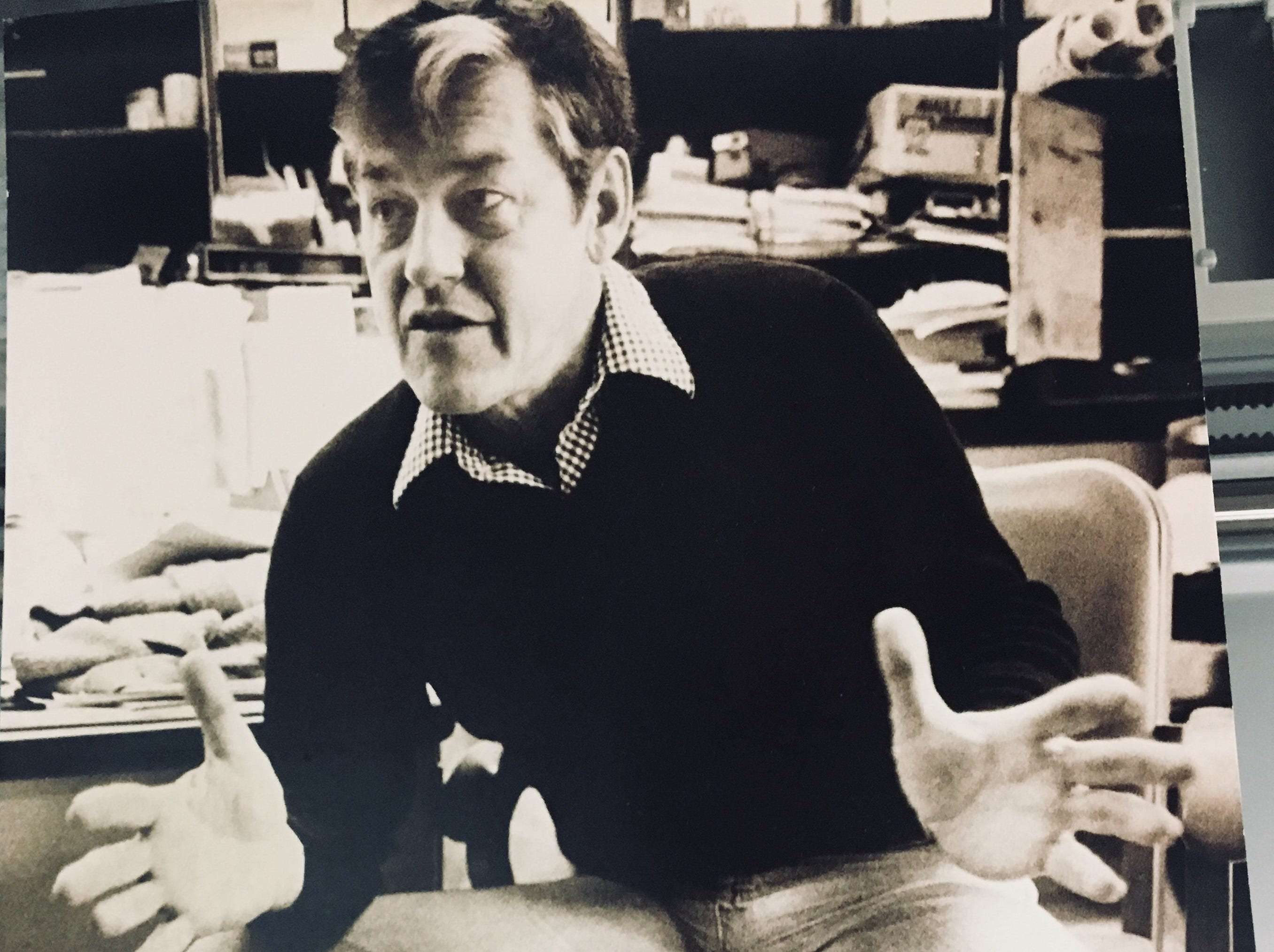 Byrne Blackwood in 1982.