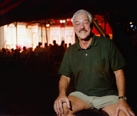 Byrne Blackwood in 1996.