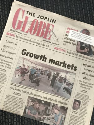 The Joplin Globe is among the community newspapers published by CNHI, LLC