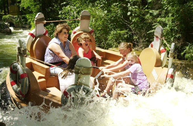 This is a file photo of Lost River, a beloved Silver Dollar City attraction. It is being torn down.