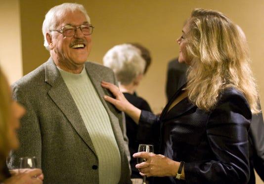 Byrne Blackwood and Kathleen Turner