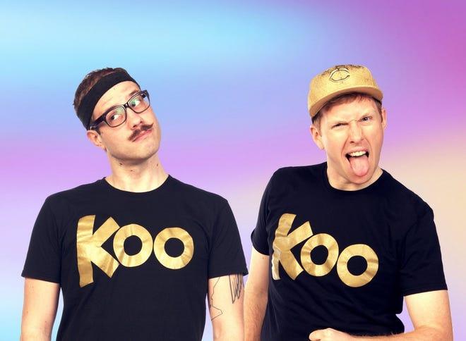 Koo Koo Kanga Roo will be performing at3 p.m. Jan. 12 at the Paramount Center for the Arts.