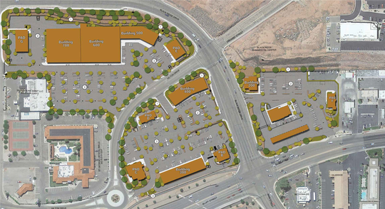 Commerce Pointe commercial development offers retail, restaurants and office space.
