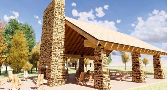Schmeeckle Reserve pavilion