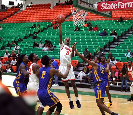 FAMU guard M.J. Randolph was named MEAC Rookie of the Week to begin conference play for the 2018-19 season.