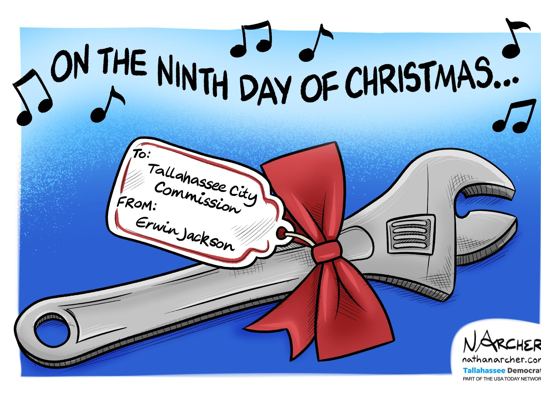 On the ninth day of Christmas...