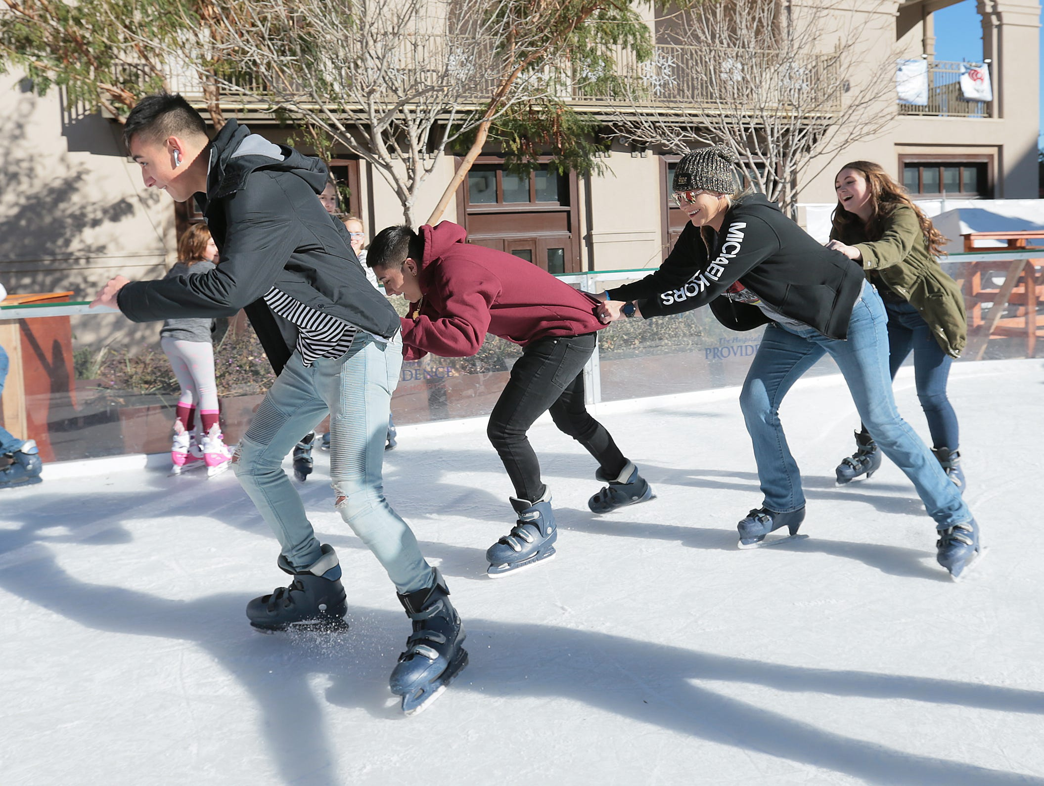 This is the final weekend to enjoy Winterfest in downtown El Paso. The Hospitals of Providence sponsored event features ice skating, holiday shopping and other special events. Winterfest is located at Arts Festival Plaza.