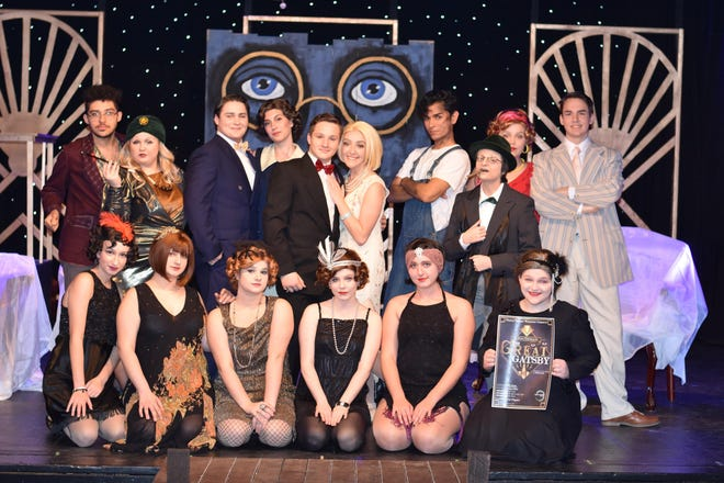"Triple Threat Workshop will present ""The Great Gatsby"" at 7 p.m. Jan. 4, 2 and 7 p.m. Jan. 5 and 2 p.m. Jan. 6 at Cumberland Players at 66 E. Sherman Ave., in Vineland."