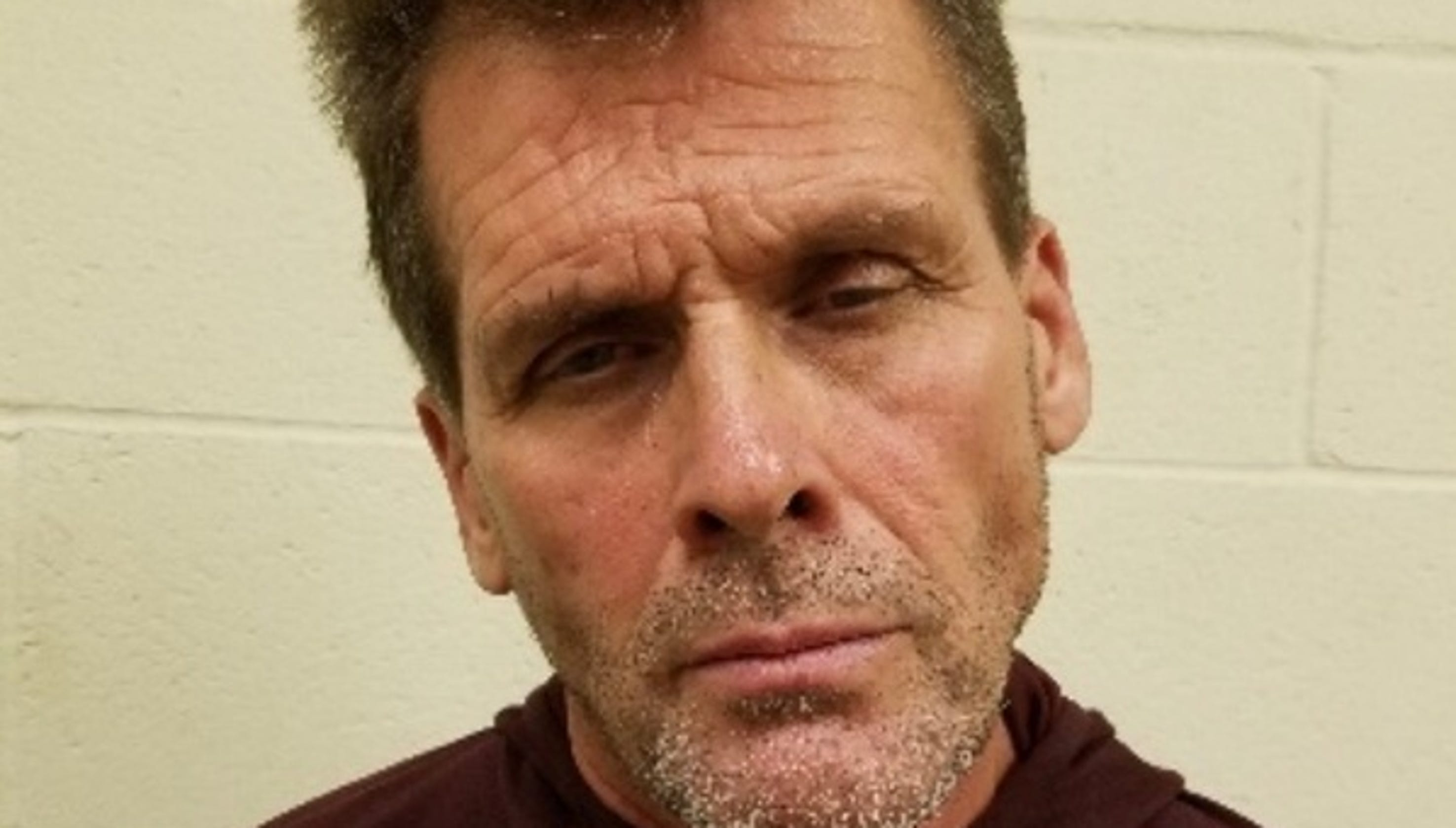 This Rambo wannabe was arrested in connection with a Tulare County