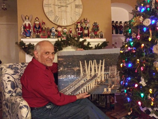"""Carlos Martinez, one of the first known finishers of the """"The Bridge"""" puzzle."""