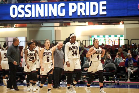 Christ the King defeated Ossining 91-50 in the first game of the Crusader Classic at the Westchester County Center in White Plains Jan. 4, 201.