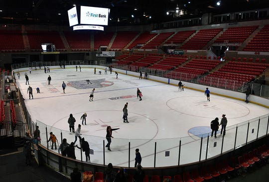 In this file photo, the Kay Yeager Coliseum hosted an Open Skate event. An increase in tax to hotel guests could bring in enough dollars to fund $6 million in needed work at the MPEC facilities and Memorial Auditorium.
