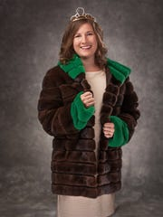 Alice in Dairyland Kaitlyn Riley wears a mahogany mink donated by Zimbal Mink of Sheboygan Falls. The deadline for applying to be the 72nd Alice in Dairyland is Feb. 4.