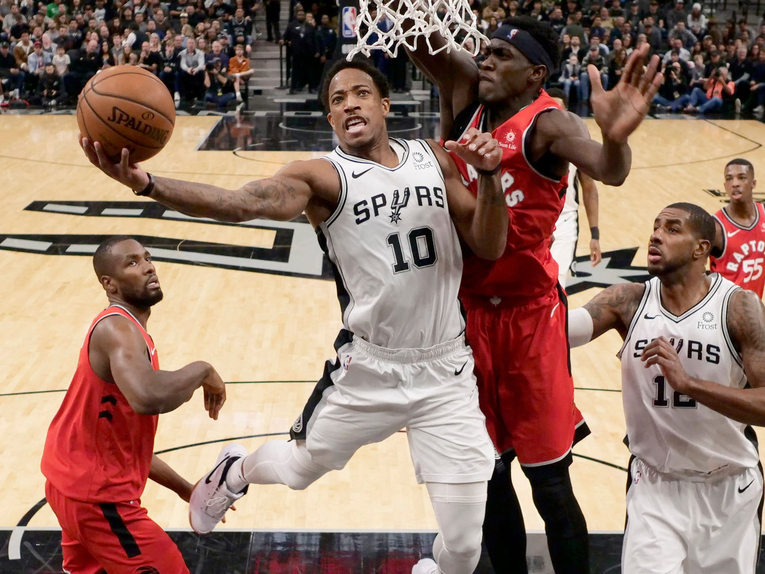 42. DeMar DeRozan, Spurs (Jan. 3): 21 points, 14 rebounds, 11 assists in 125-107 win over Raptors.