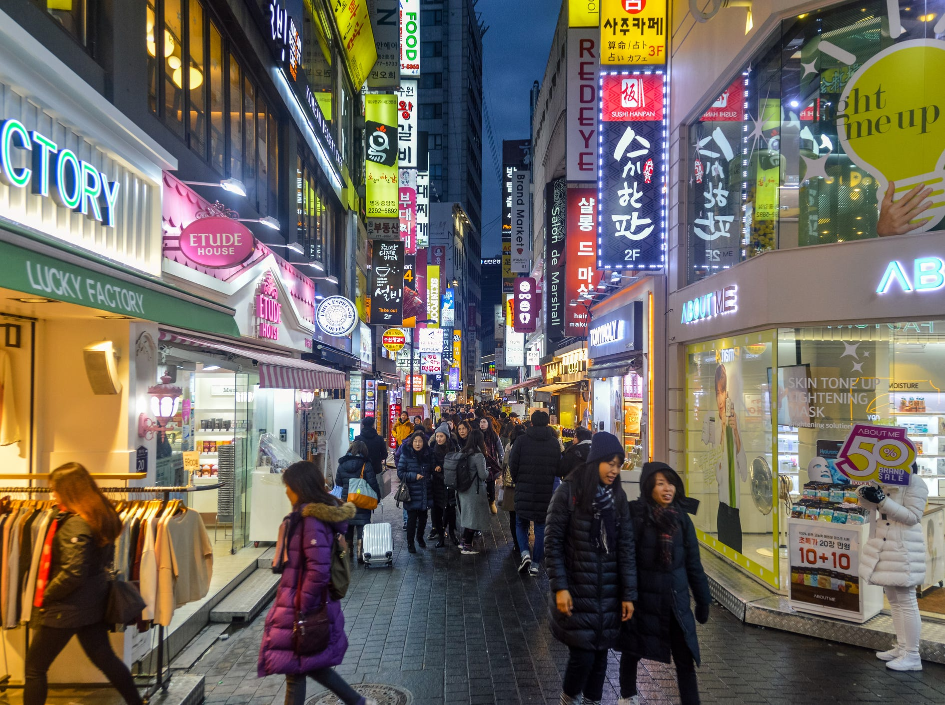 The second most expensive country is South Korea, at $772 a square foot (and a local salary of $21,723 good for an 84 sq. ft. dwelling).