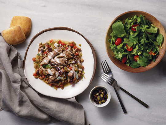 This pork-and-beans dish will have you feeling lucky.