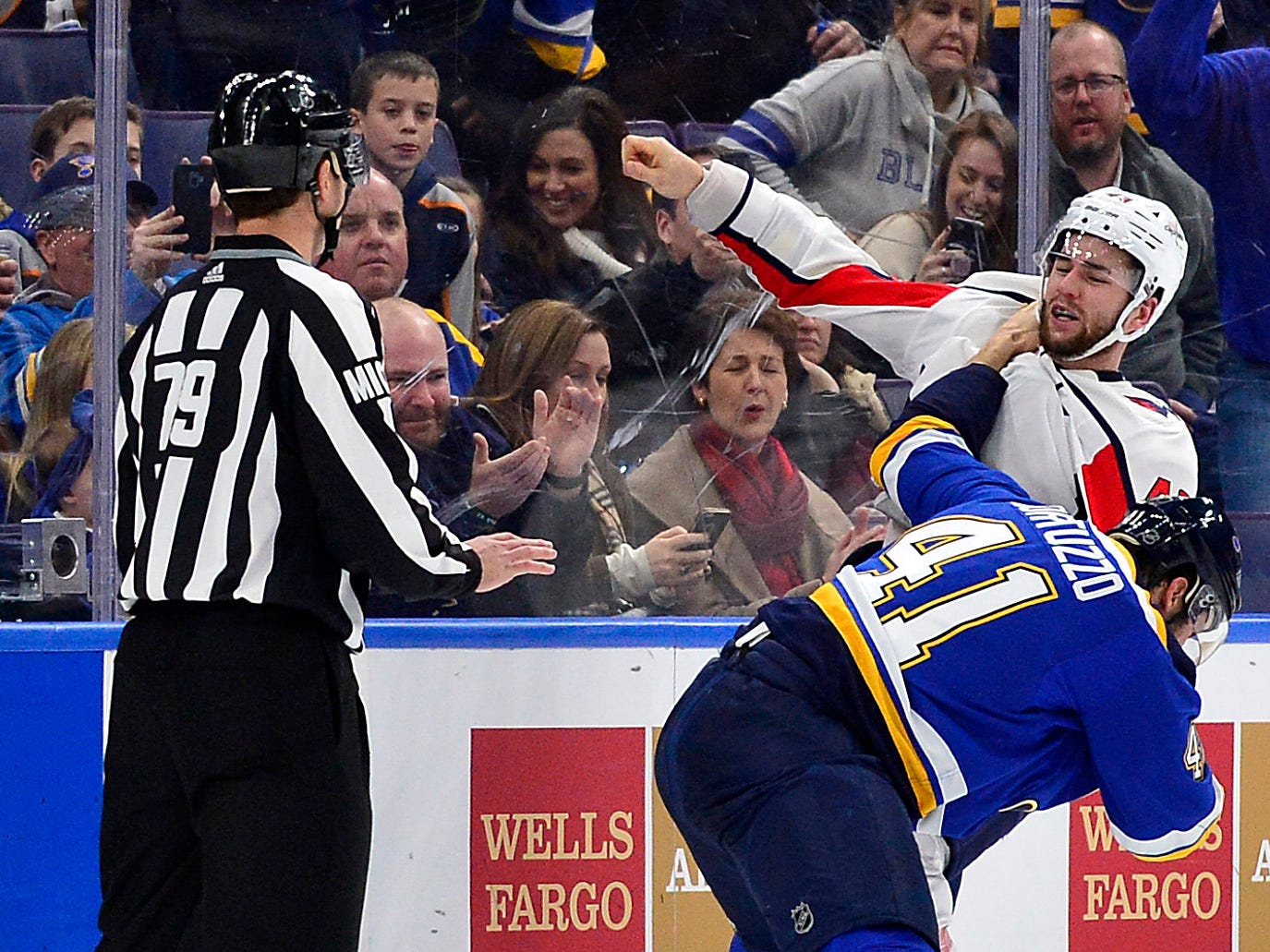 Jan. 3: St. Louis Blues' Robert Bortuzzo vs. Washington Capitals' Tom Wilson