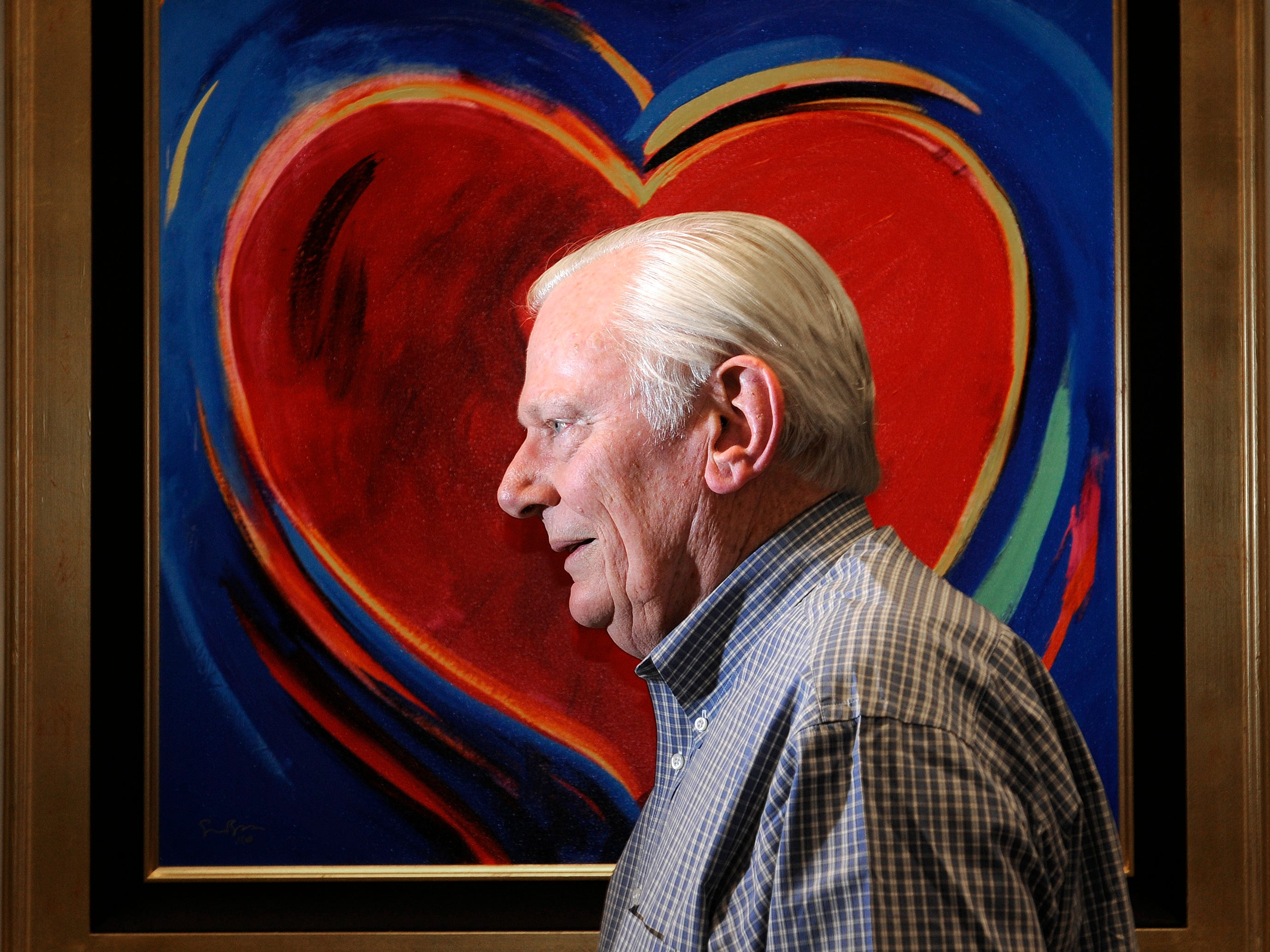 Herb Kelleher, co-founder, Chairman Emeritus and former CEO of Southwest Airlines, in his Dallas office on June 10, 2011.
