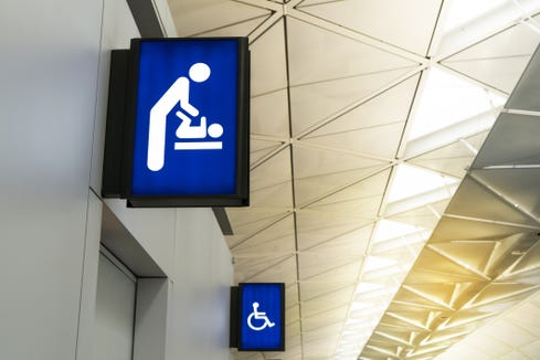 Public buildings in New York must now have changing tables in bathrooms for both genders.