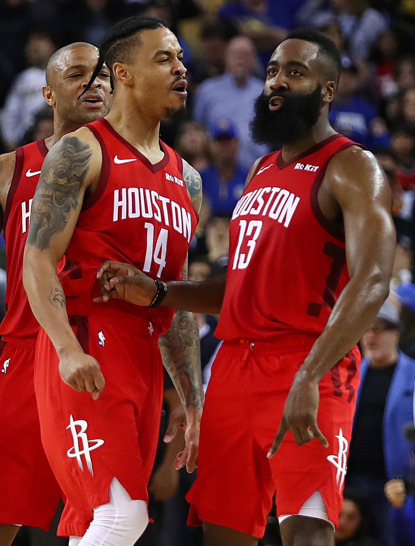 Ap Rockets Warriors Basketball S Bkn Usa Ca