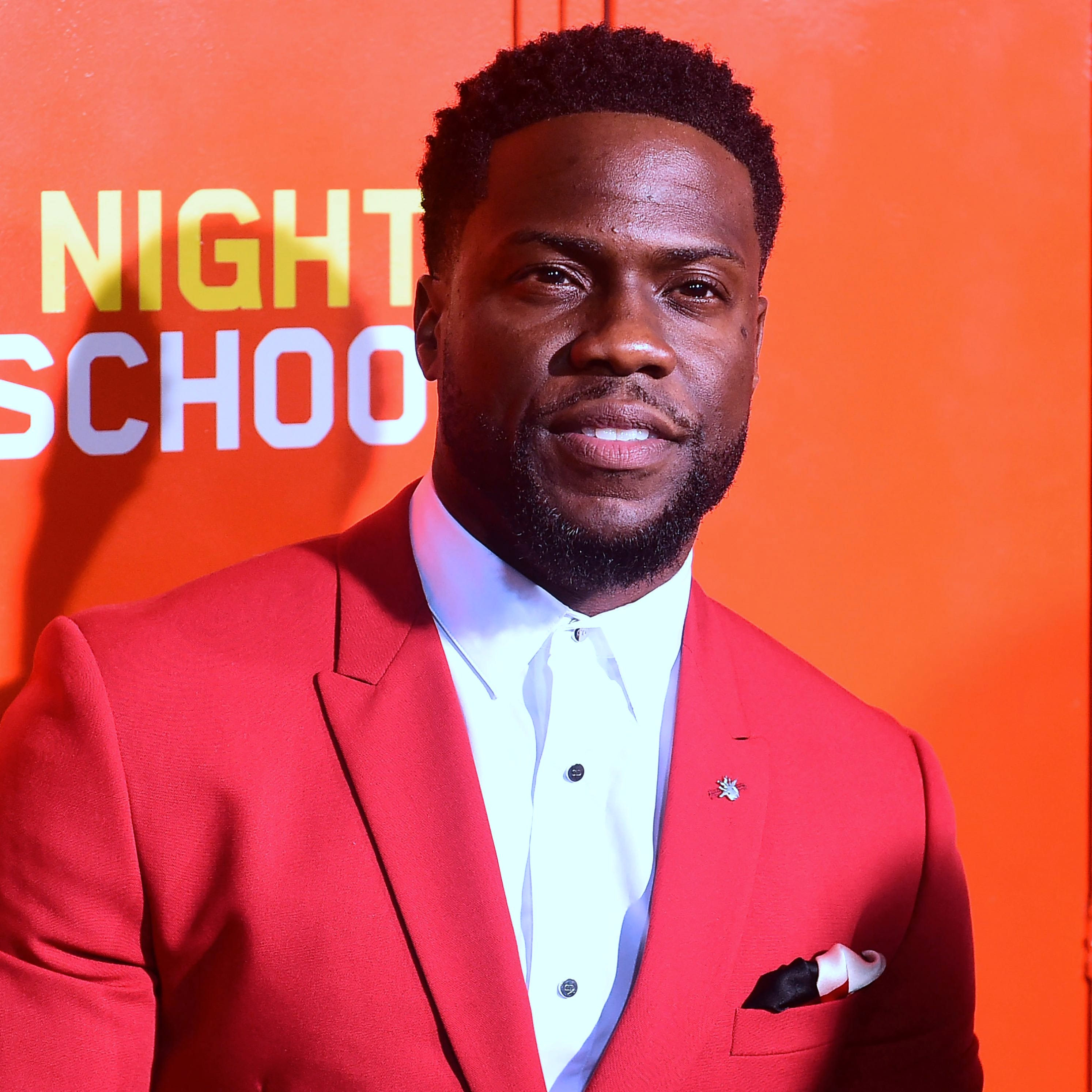 Kevin Hart at a premiere in Los Angeles, on Sept. 24, 2018.