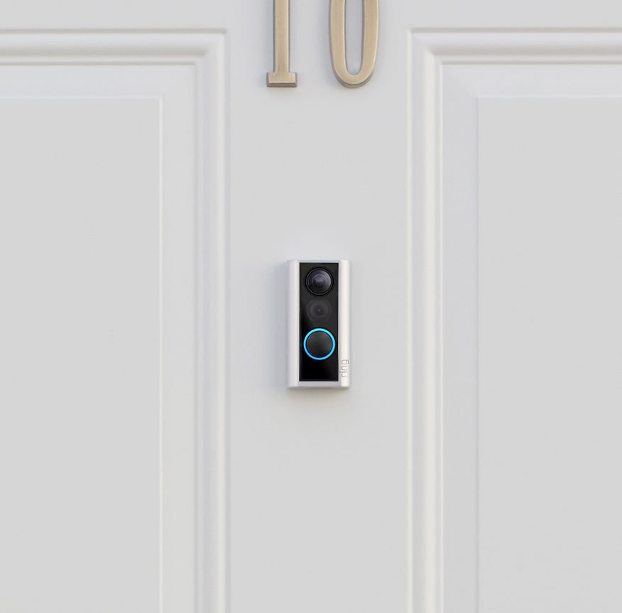 Ring's new doorbell for peepholes