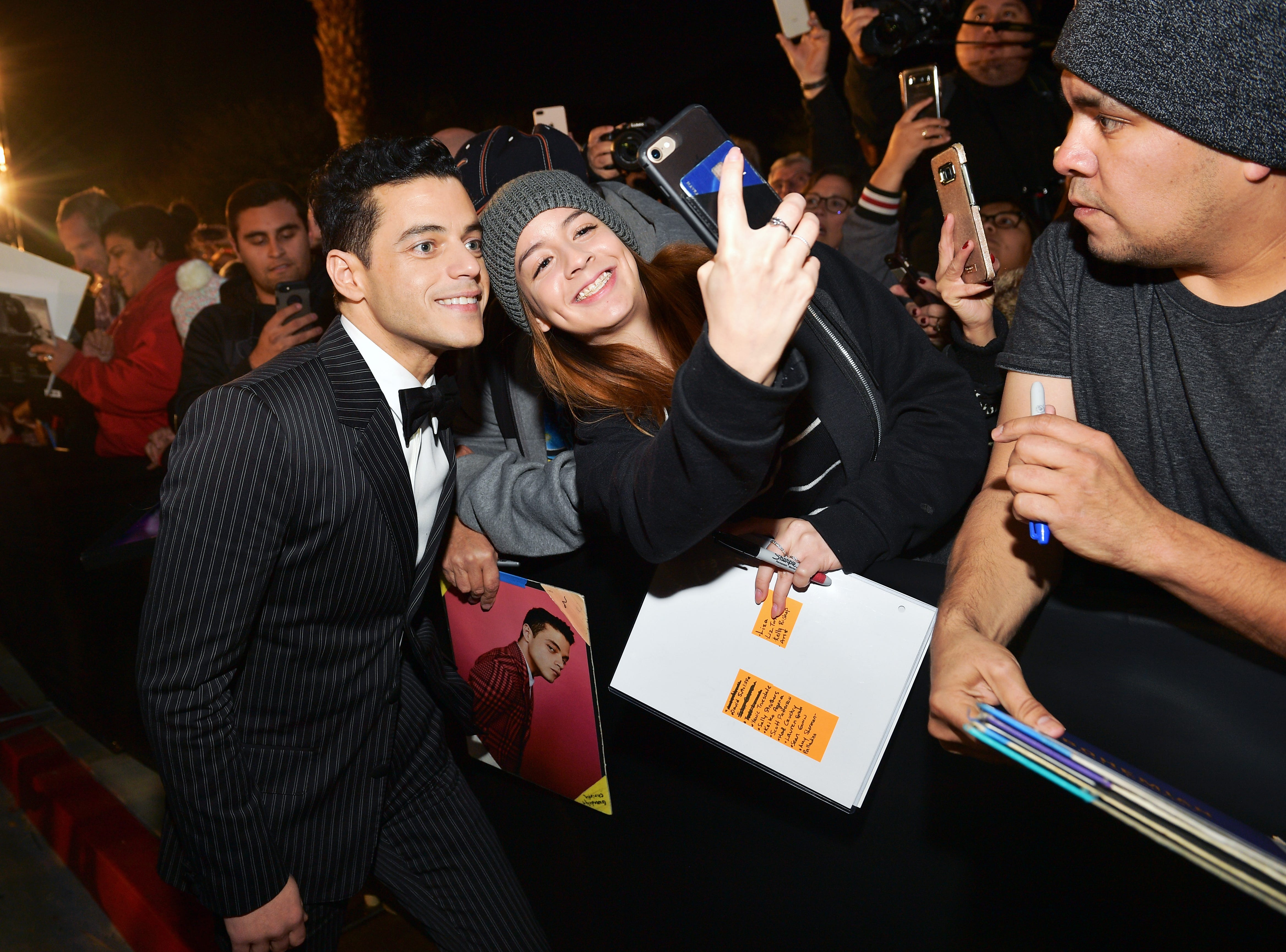 PALM SPRINGS, CA - JANUARY 03:  Rami Malek attends the 30th Annual Palm Springs International Film Festival Film Awards Gala at Palm Springs Convention Center on January 3, 2019 in Palm Springs, California.  (Photo by Matt Winkelmeyer/Getty Images for Palm Springs International Film Festival ) ORG XMIT: 775276067 ORIG FILE ID: 1076915304