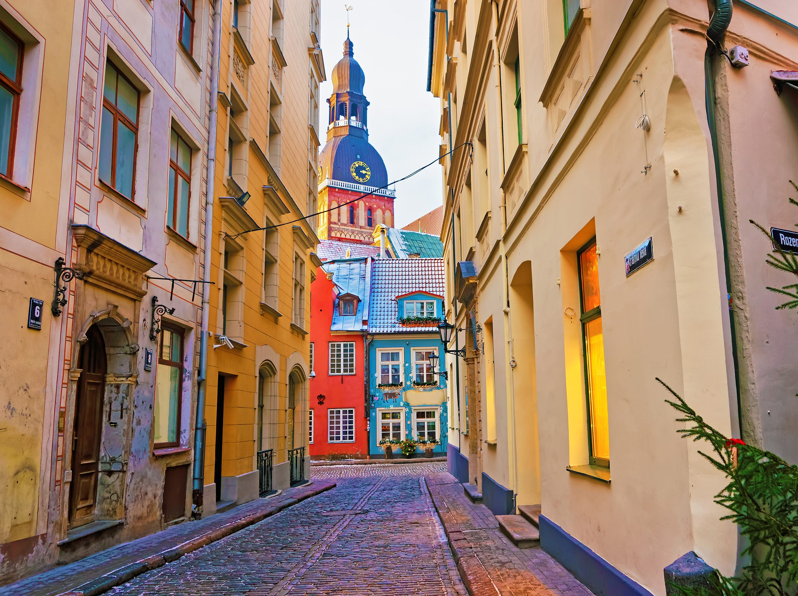 No. 4: Latvia, $136/square foot ($15,269 local salary buys a 338 sq. ft. dwelling).