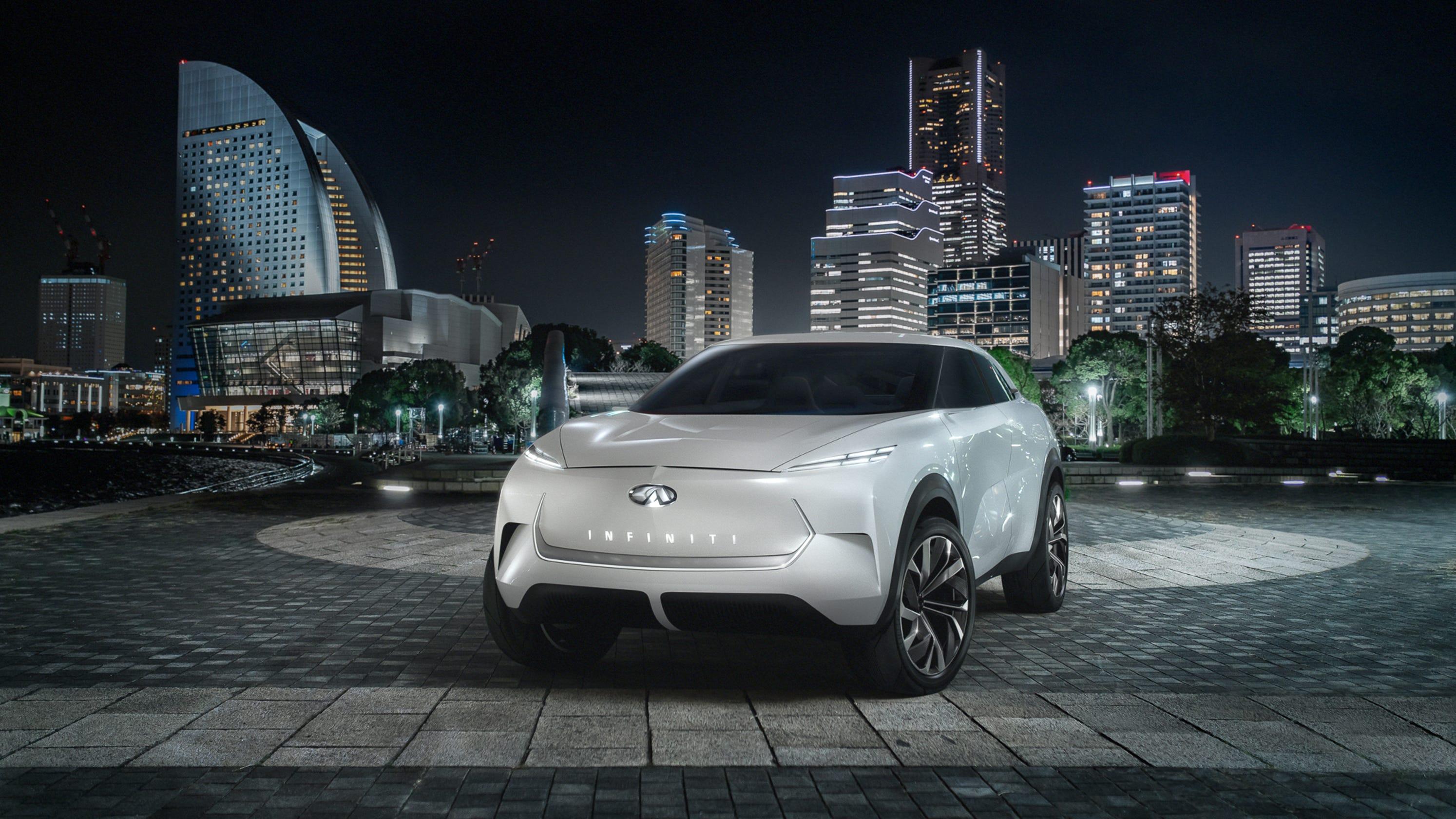 Detroit Auto Show 2019 Debuts Infiniti Qx Inspiration Revealed
