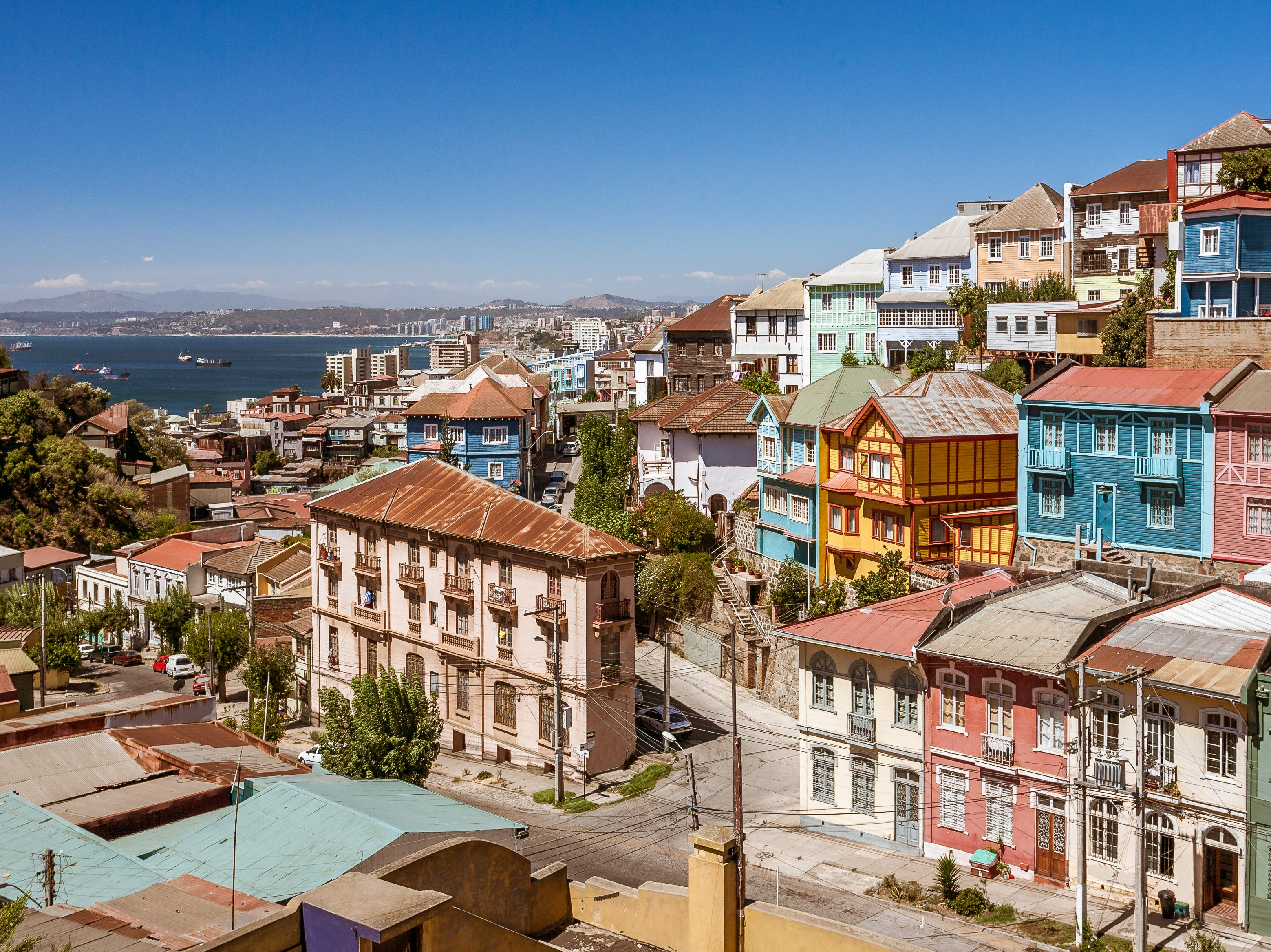 No. 9: Chile, $196/square foot ($16,588 local salary buys a 254 sq. ft. dwelling).