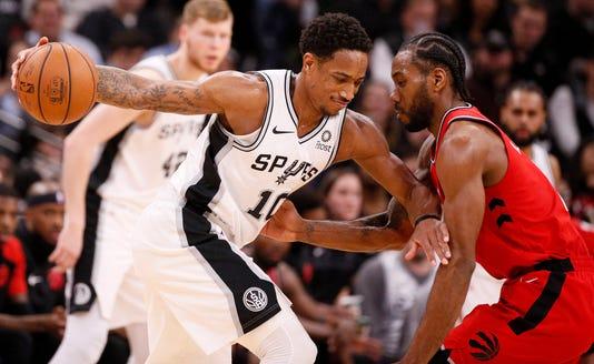 Nba Toronto Raptors At San Antonio Spurs