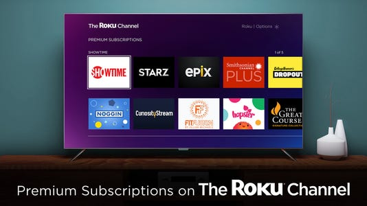 The Roku Channel Premium Subscriptions Lifestyle