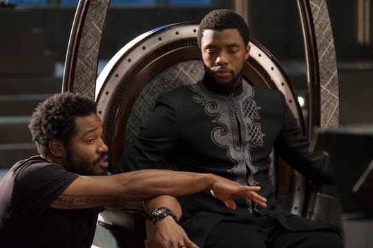 "Neither ""Black Panther"" director Ryan Coogler, left, nor star Chadwick Boseman were nominated."