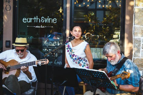 Cuban Heels play a free set of Latin American and Brazilian music starting at 7 p.m. Jan. 12 at Earth & Vine Wine Bar on Bainbridge Island.