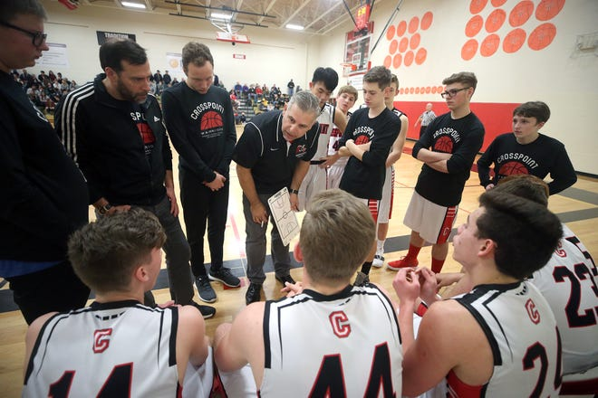 Derrin Doty has coached soccer, baseball and middle school and JV basketball at Crosspoint Academy in Chico. He's in his first year as head coach of the varsity boys basketball team.