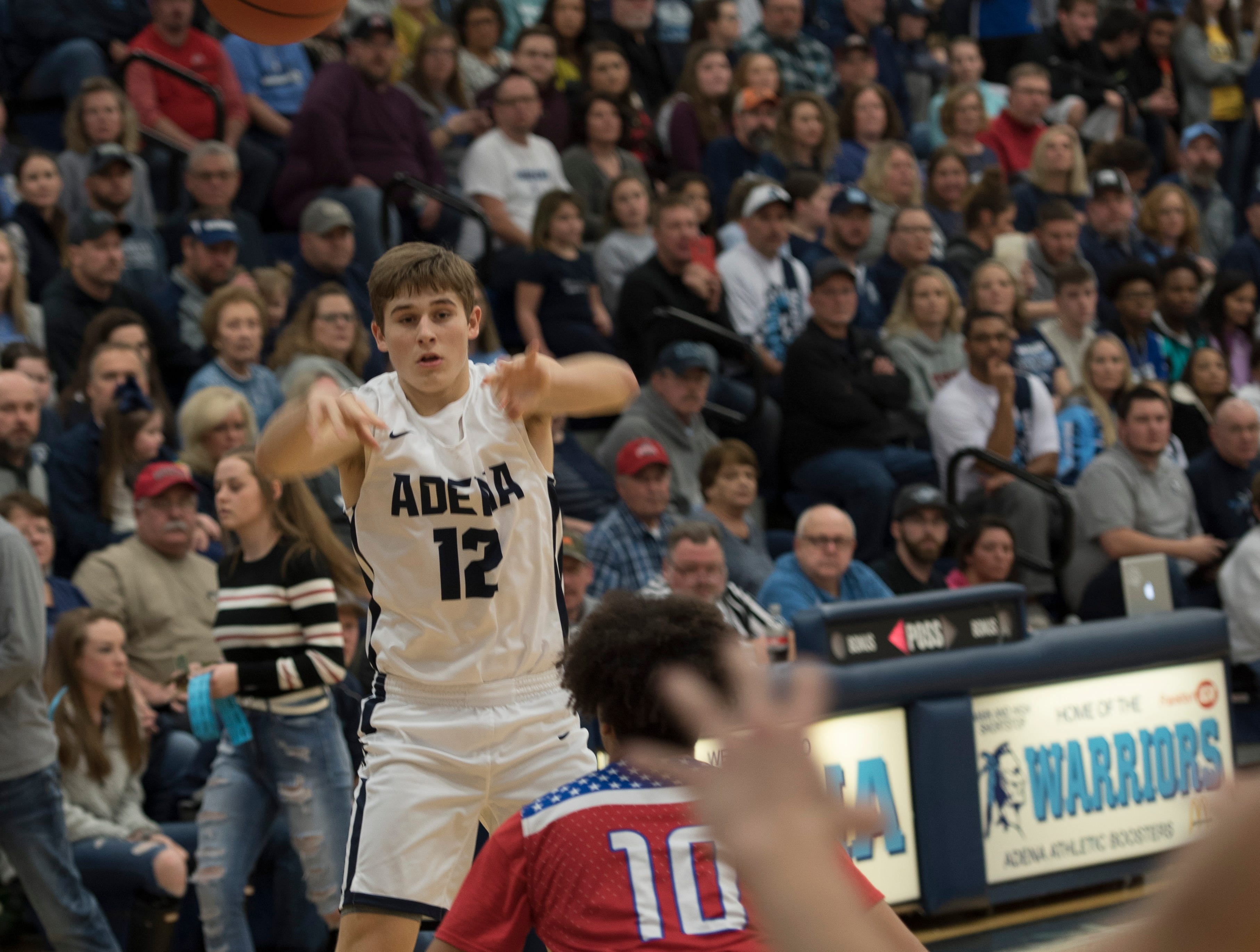 Zane Trace defeated Adena 67-52 Friday night in Frankfort, Ohio, making them undefeated in the SVC.