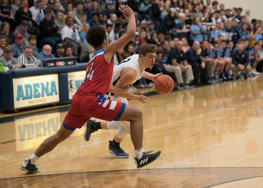 Adena's Zach Fout earned all-league first team honors after helping lead the Warriors to an 11-3 league record.