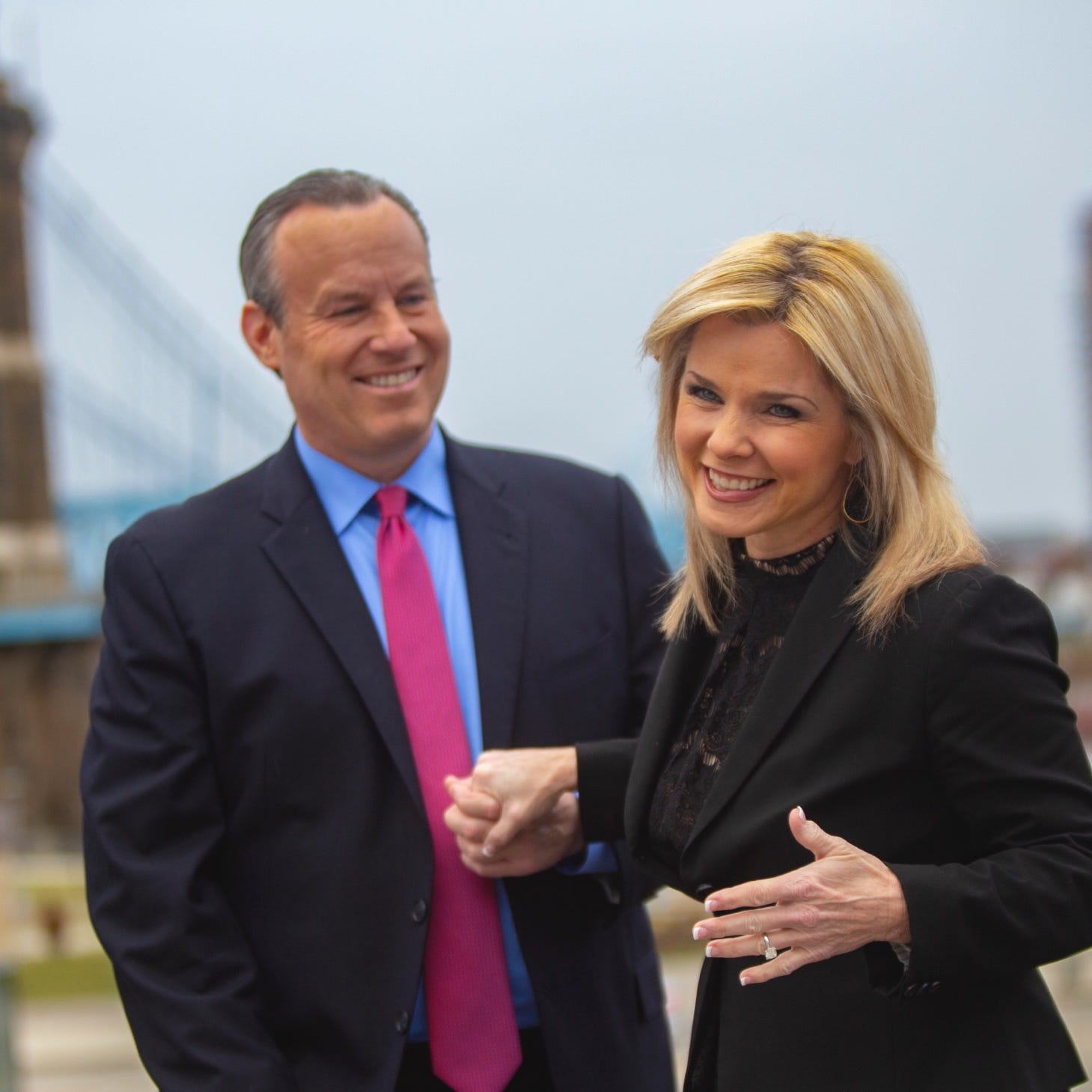 'The man I was looking for has been sitting next to me': WLWT co-anchors are engaged