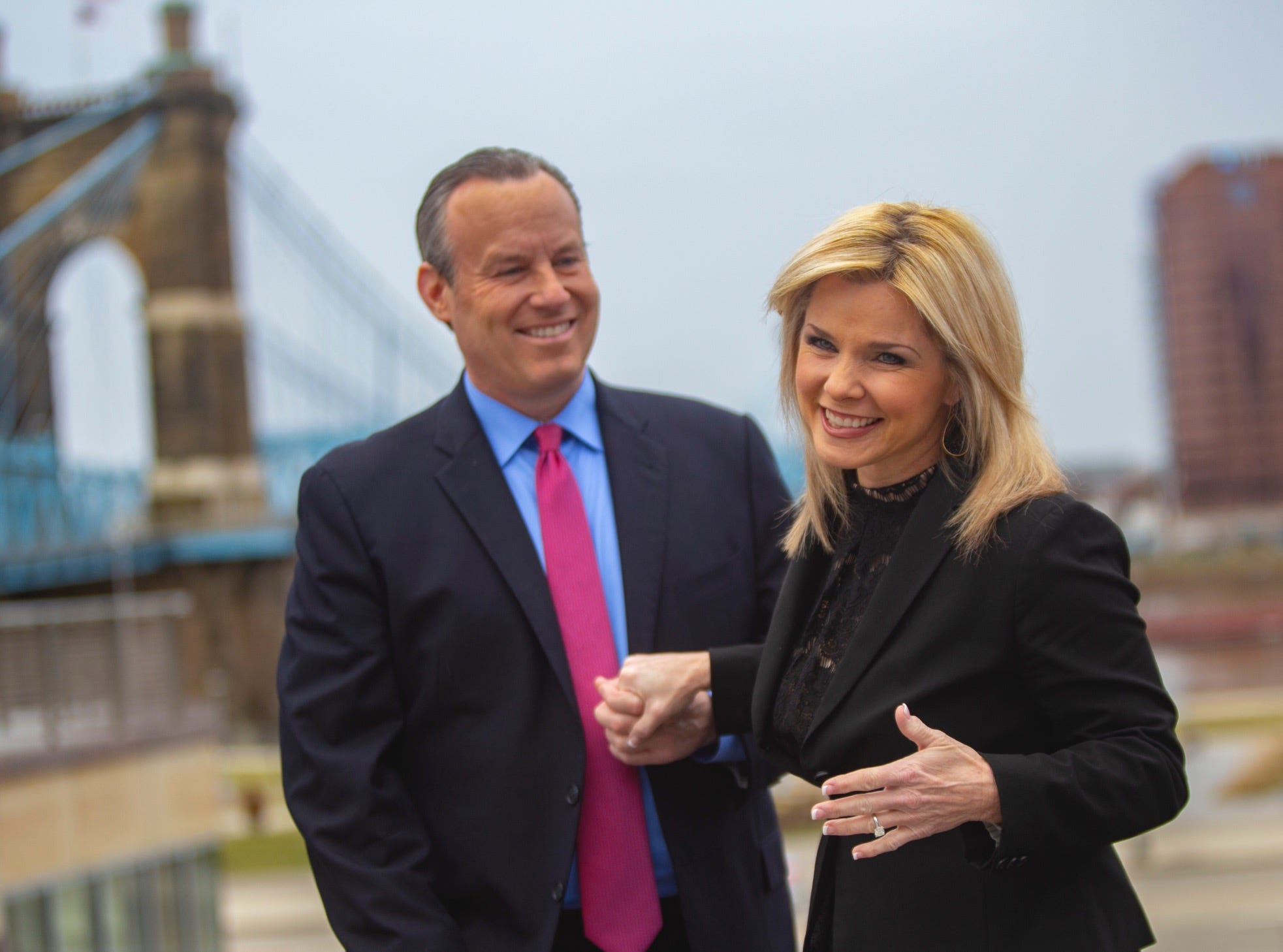 'The man I was looking for has been sitting next to me': Cincinnati co-anchors are engaged