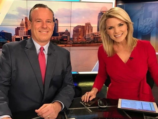 Mike Dardis and Sheree Paolello, co-anchors at WLWT News, are married