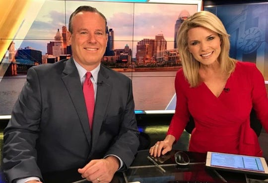 WLWT co-anchors, Sheree Paolello and Mike Dardis