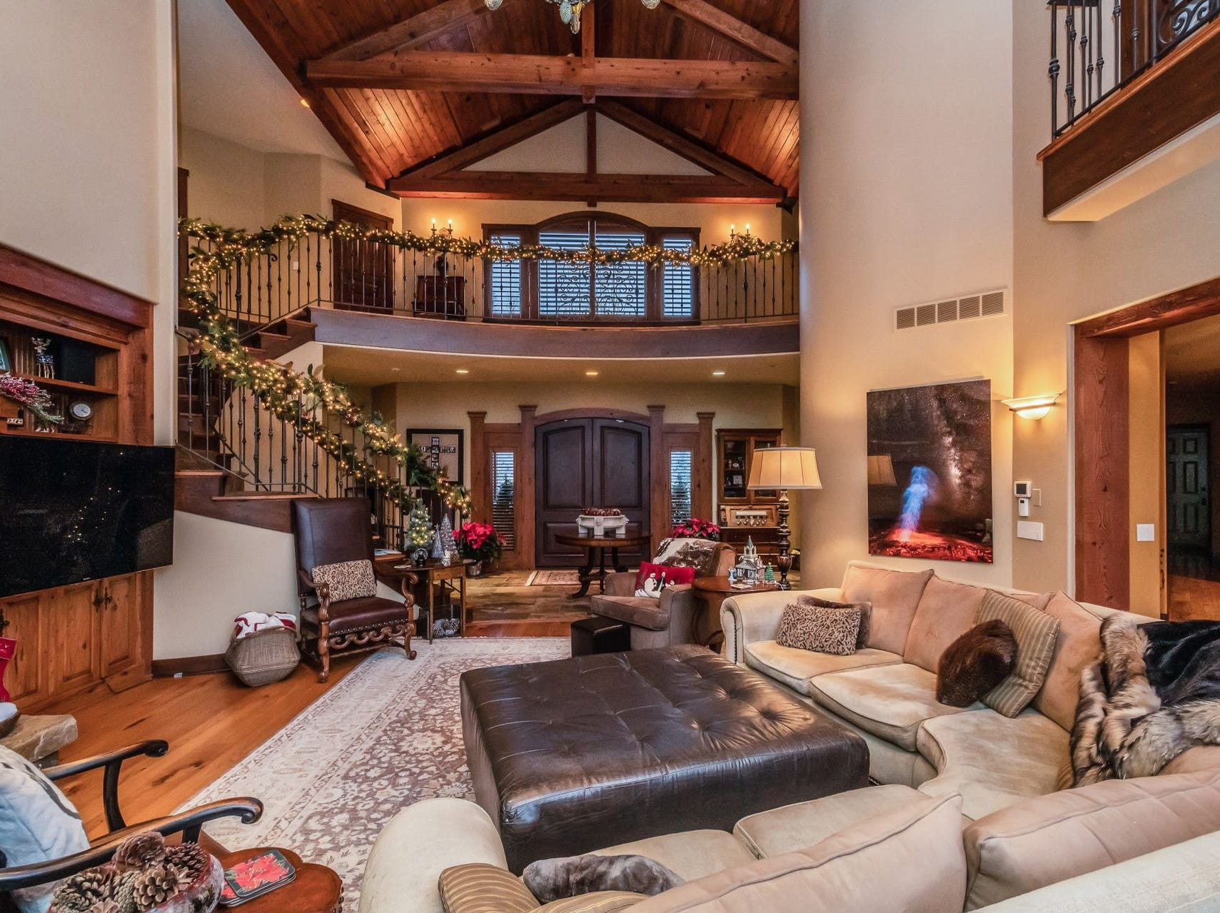 Located in Urbandale, this home with 10,000 square feet of living space is available for just below $2 million.