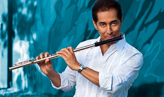 Puerto Rico-born Nestor Torres is part of the Latin Jazz All Stars lineup.