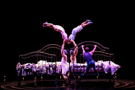 "Cirque du Soleil's ""Corteo"" features a global cast of 51 acrobats, musicians, singers and actors."