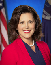 Gov. Gretchen Whitmer.