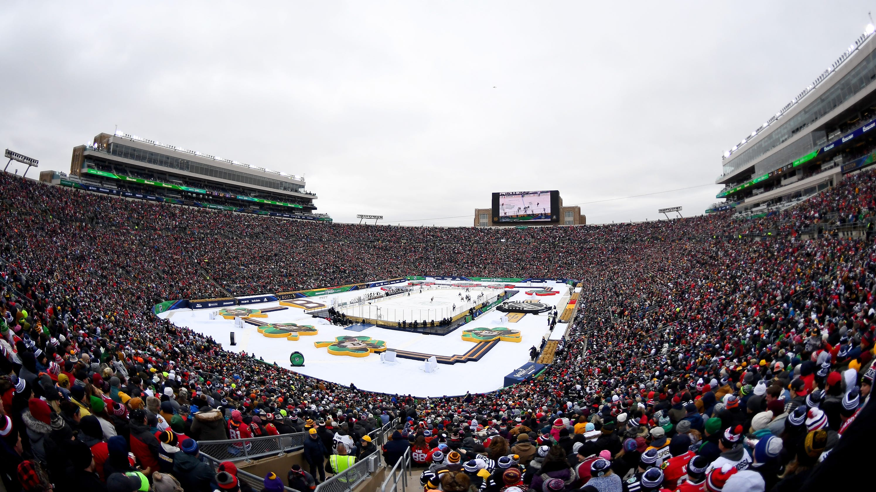 Michigan-Notre Dame hockey set to take rivalry outdoors 8f7a001a2
